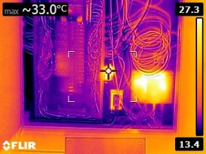 Infrared electrical inspection - Inspection électrique infrarouge